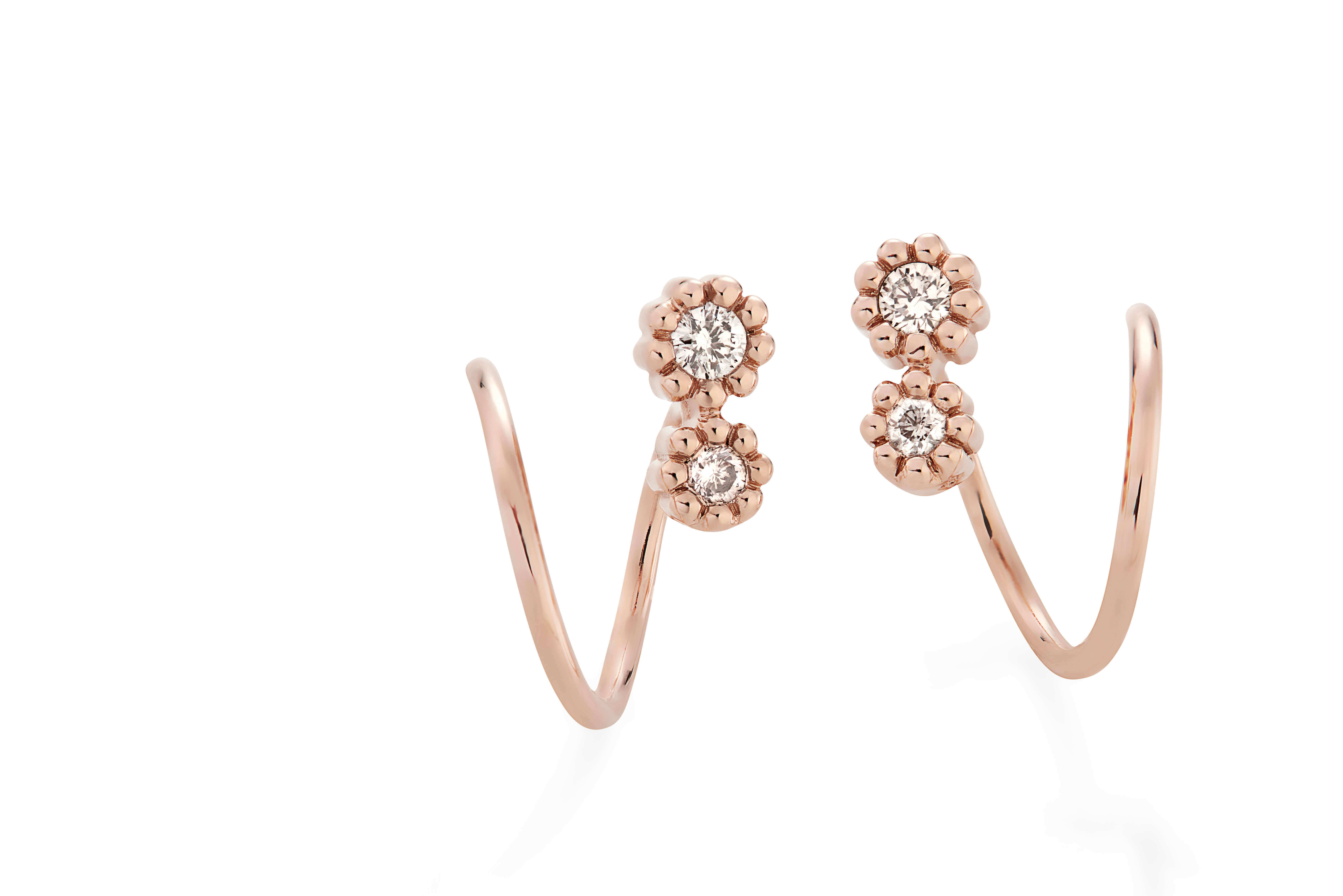 MyCollection_H.Stern_-_earrings_in_18K_rose_gold_with_diamonds_accents_(B0B_209482)